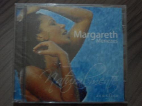 cd margareth menezes naturalmente acústico produto lacrado