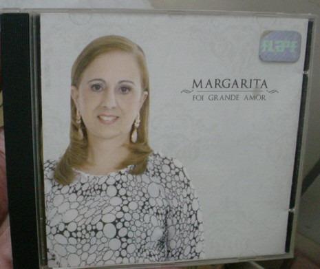 cd  margarita  /  foi grande amor  -  b267