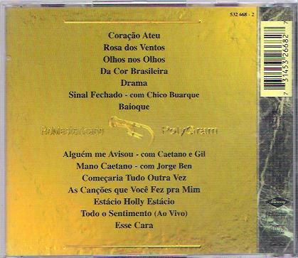 cd maria bethânia coleção obras-primas