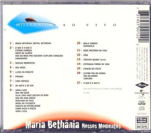 cd maria bethânia - nossos momentos - 1982
