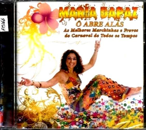 Cd Maria Da Paz 2007 O Abre Alas Marchinhas Carnaval R 50