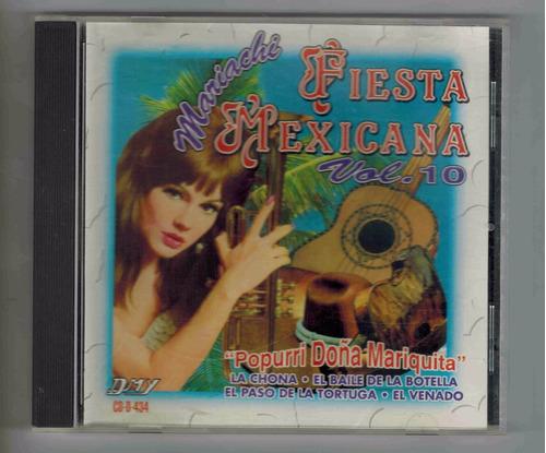 cd mariachi fiesta mexicana