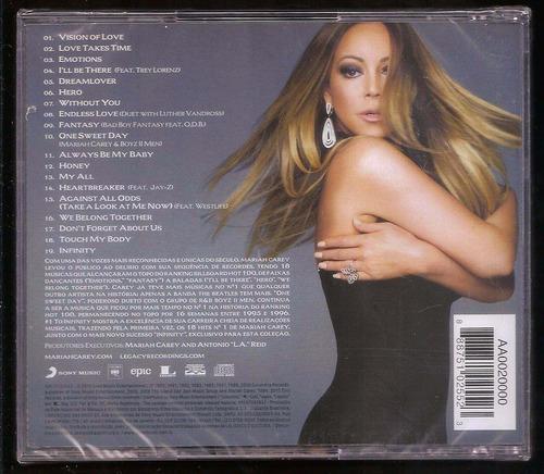 cd mariah carey #1 to infinity - lacrado