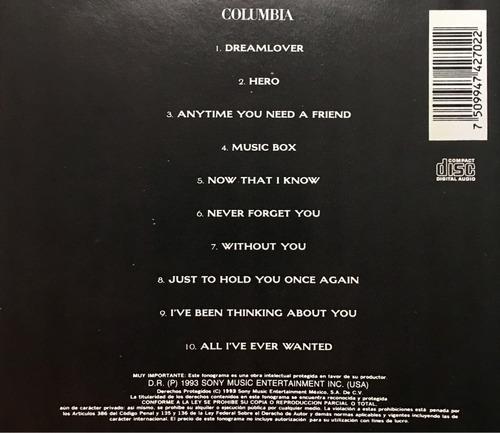 cd mariah carey music box