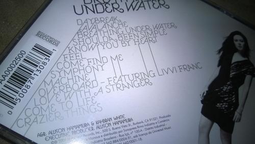 cd marié digby - breathing under water (perfeito estado)