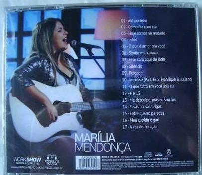cd marília mendonça - ao vivo