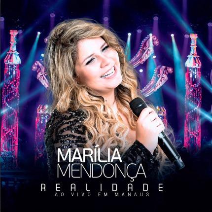 cd marília mendonça realidade 2107 + cd ao vivo 2016