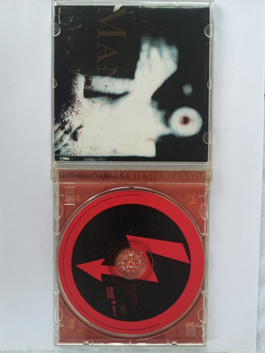 cd marilyn manson - antichrist superstar