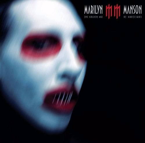 cd marilyn manson the golden age of grotesque- big bang rock