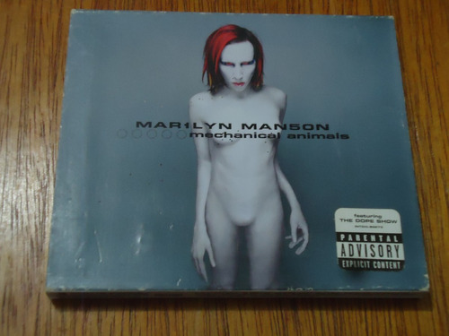 cd marilyn manson:mechanical animals