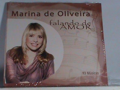 cd - marina de oliveira -  (novo - original - lacrado)