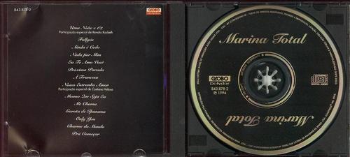 cd marina - marina total - 1994 - marina lima