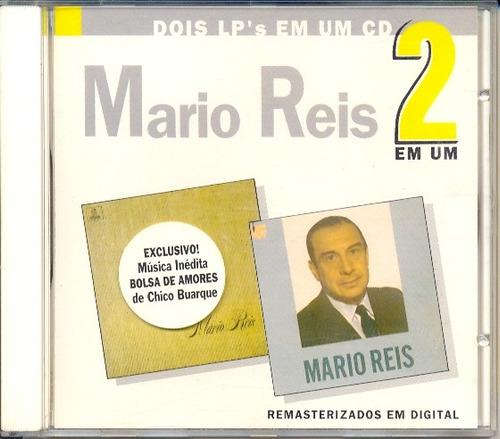 cd mário reis canta suas criações em hi-fi + mario reis 1971