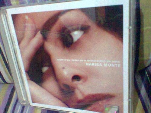 cd marisa monte @ memórias,crônicas,declarações