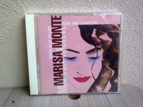 cd marisa monte - rose and charcoal (1994) importado