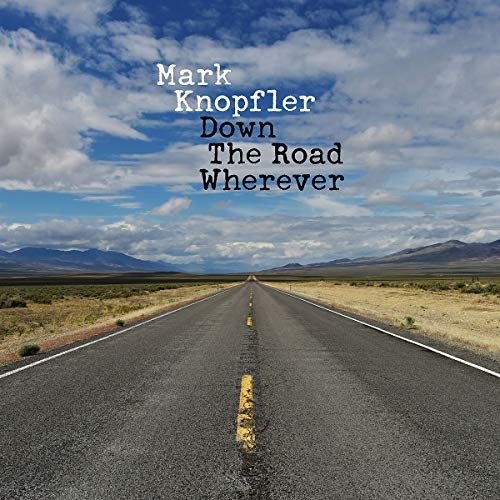 cd : mark knopfler - down the road wherever (de (envio hoy)