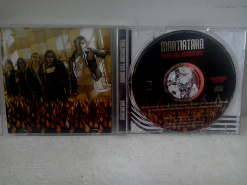cd martiataka rocke roll combustivel - envio 9,00$