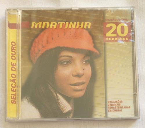 cd martinha (20 super sucessos ) hbs