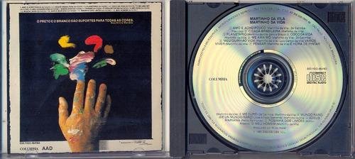 cd martinho da vila - martinho da vila - 1990