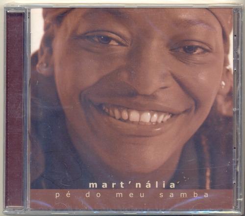 cd mart'nália pé do meu samba 2003 martinho da vila lacrado