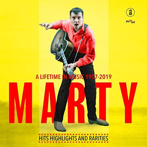 cd : marty wilde - marty: a lifetime in music 1957-2019 (4..