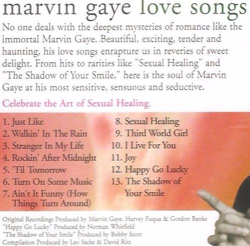 cd marvin gaye - love songs