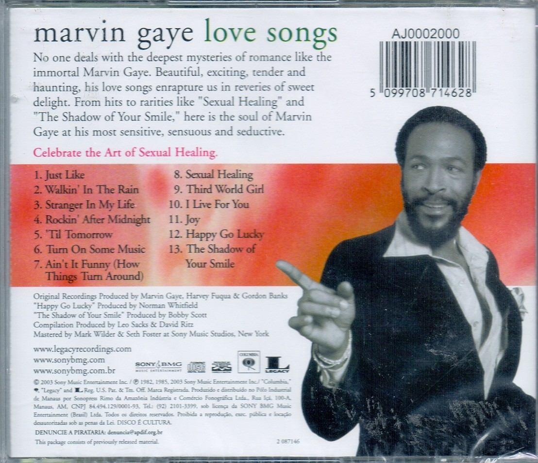 Marvin gaye romantic songs