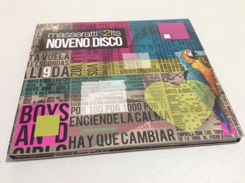 cd masseratti 2 lts - noveno disco