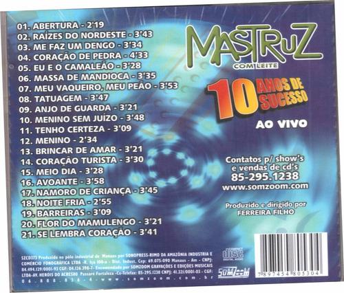 cd mastruz com leite 10 anos de sucesso original