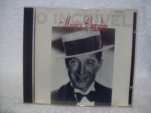 cd maurice chevalier- o incrível maurice chevalier