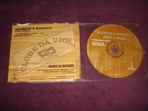 cd mauricío e marcelo e roby & roger - single promo