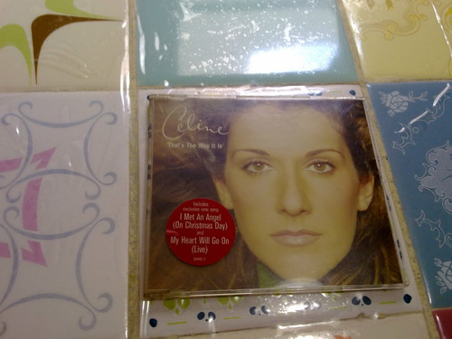 cd maxi celine dyon - thats the way it is