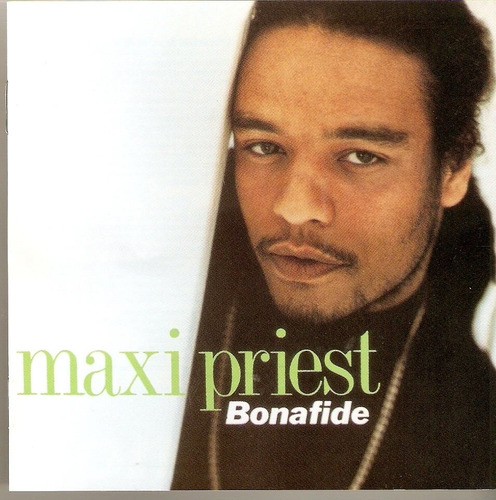 cd maxi priest - bonafide - novo***
