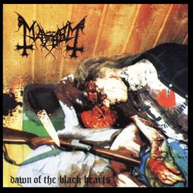 Cd Mayhem - Dawn Of The Black Hearts - Novo!!
