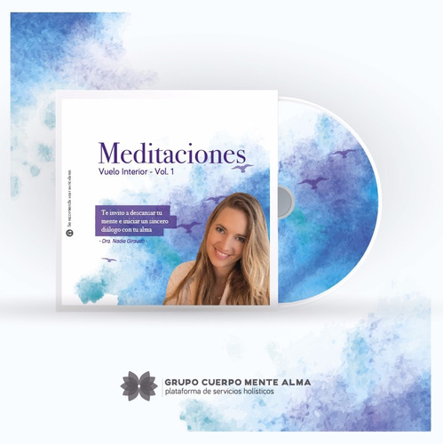 cd meditaciones vuelo interior - dra. nadia giraudo