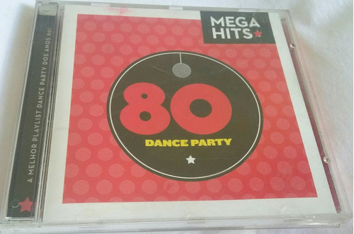 cd mega hits 80 (dance party)