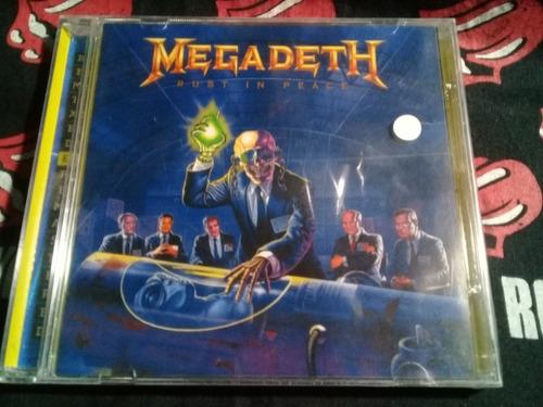 cd megadeth - rust in peace   lacrado