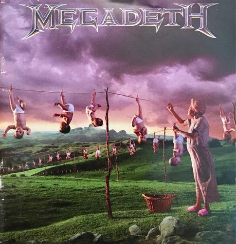 cd megadeth youthanasia usado hecho en mexico