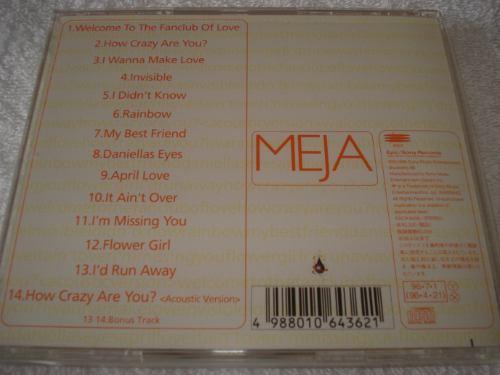 cd meja - made in japan