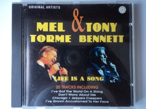 cd mel torme e tony bennett - life is a song