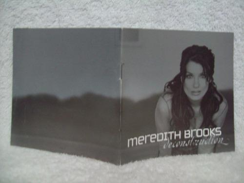 cd meredith brooks- deconstruction