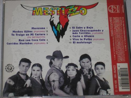 cd mestizzo  (nuevo y sellado de fabrica) muy raro