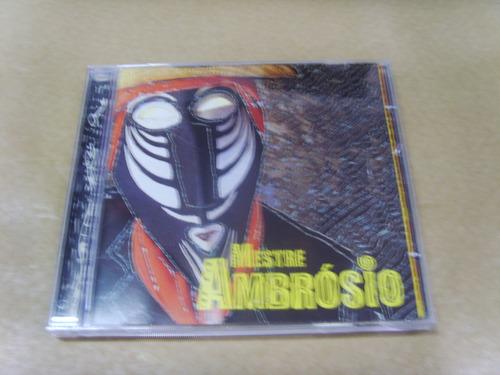 cd - mestre ambrósio