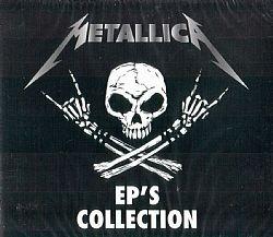 cd metallica - ep's collection (novo-lacrado)