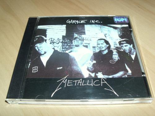 cd metallica - garage inc.