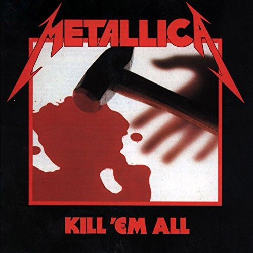 cd : metallica - kill em all (cd)