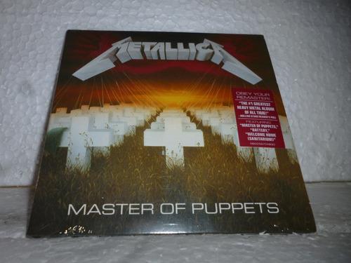 cd metallica - master of puppets 1986 br minivinil lacrado