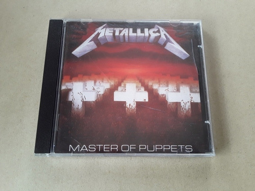 cd metallica - master of puppets - original