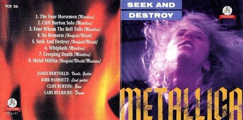cd - metallica - seek and destroy - live at lyceum regalo!!!