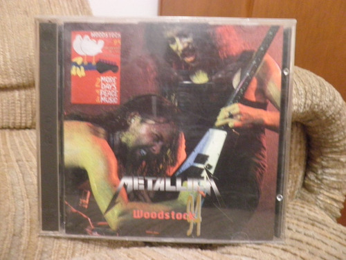 cd metallica woodstock 94 duplo importado